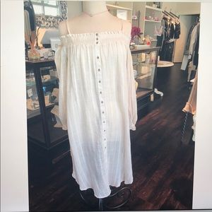 Free people off the shoulder tunic OB568268